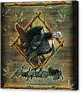 Turkey Lodge Canvas Print by JQ Licensing