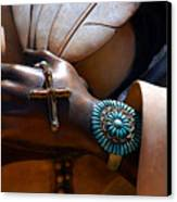 Turquoise Bracelet  Canvas Print by Susanne Van Hulst