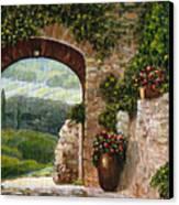 Tuscan Arch Canvas Print by Italian Art