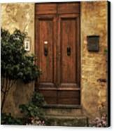 Tuscan Entrance Canvas Print by Andrew Soundarajan