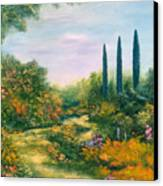 Tuscany Atmosphere Canvas Print by Hannibal Mane