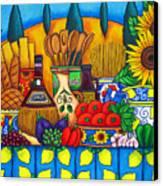 Tuscany Delights Canvas Print