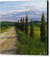 Tuscany Road Canvas Print by Jay Johnson