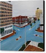 Tushka Lusa Canvas Print by Tammy Dunn