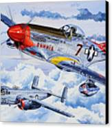 Tuskegee Airman Canvas Print