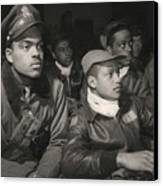 Tuskegee Airmen Of The 332nd Fighter Canvas Print