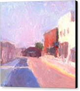 Twentyfirst Street  Early Am Canvas Print