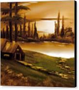 Twilight Time Canvas Print