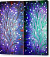 Twin Beauty-2 Canvas Print by Karunita Kapoor