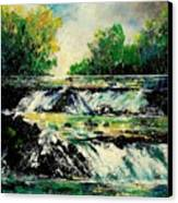 Two Falls Canvas Print