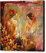 Two Nudes  Canvas Print