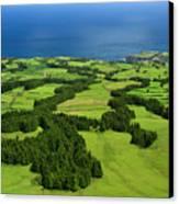 Typical Azores Islands Landscape Canvas Print