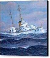 U. S. Coast Guard Cutter Owasco Canvas Print