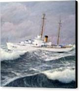 U. S. Coast Guard Cutter Taney Canvas Print by William H RaVell III