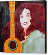Uke Canvas Print by Sandy McIntire