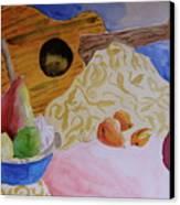Ukelele Canvas Print by Beverley Harper Tinsley