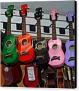 Ukeleles For Sale Canvas Print