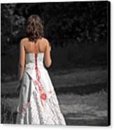 Ukrainian Bride Canvas Print