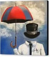 Umbrella Canvas Print by Crispin  Delgado