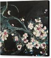 Ume Blossoms2 Canvas Print