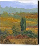 un altro pomeriggio in Toscana Canvas Print by Guido Borelli