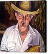 Uncle Frank Canvas Print