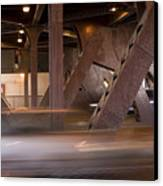 Under A Bridge Canvas Print
