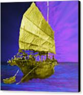 Under Golden Sails Canvas Print