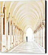 Underneath The Arches Canvas Print by Marion Galt
