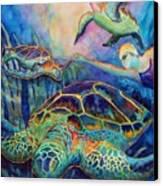 Undersea Adventure Canvas Print