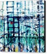 Underwater Oil Painting  Canvas Print