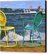 Union Chairs Canvas Print
