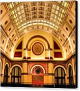 Union Station Balcony Canvas Print