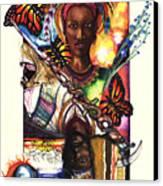 United Canvas Print by Anthony Burks Sr
