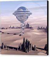 Universal Time Canvas Print