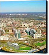University City Philadelphia Pennsylvania Canvas Print by Duncan Pearson