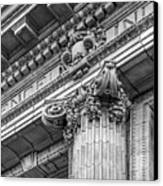 University Of Pennsylvania Column Detail Canvas Print