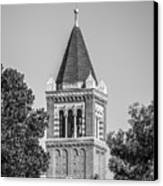 University Of Southern California Clock Tower Canvas Print by University Icons