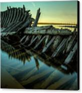 Unknown Shipwreck Canvas Print