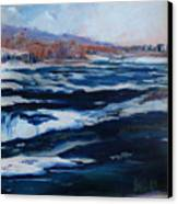 Upper Rapids Niagara Falls Canvas Print