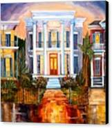 Uptown Tonight Canvas Print by Diane Millsap