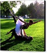 Urban Ballet Canvas Print