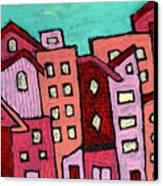 Urban Heat Canvas Print