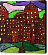 Urban Legand Canvas Print