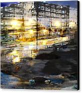 Urban Renovation Canvas Print