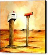 U.s. Mail Canvas Print by Michael Vigliotti