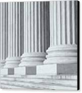 Us Supreme Court Building Iv Canvas Print by Clarence Holmes
