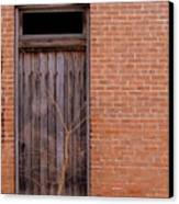 Use Side Entrance Canvas Print