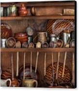 Utensils - What I Found In A Cabinet Canvas Print