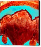 Uterus Canvas Print
